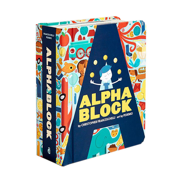 Alphablock : Block Book (Board book)