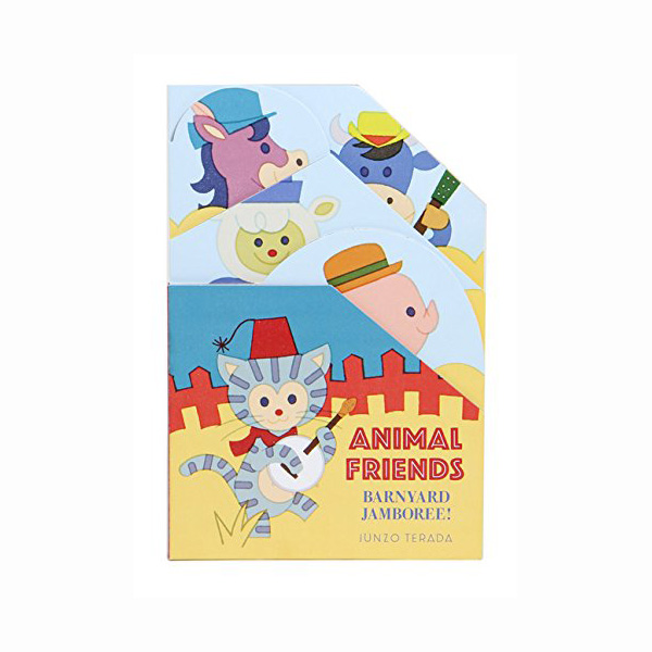 Animal Friends: Barnyard Jamboree! (Board book)