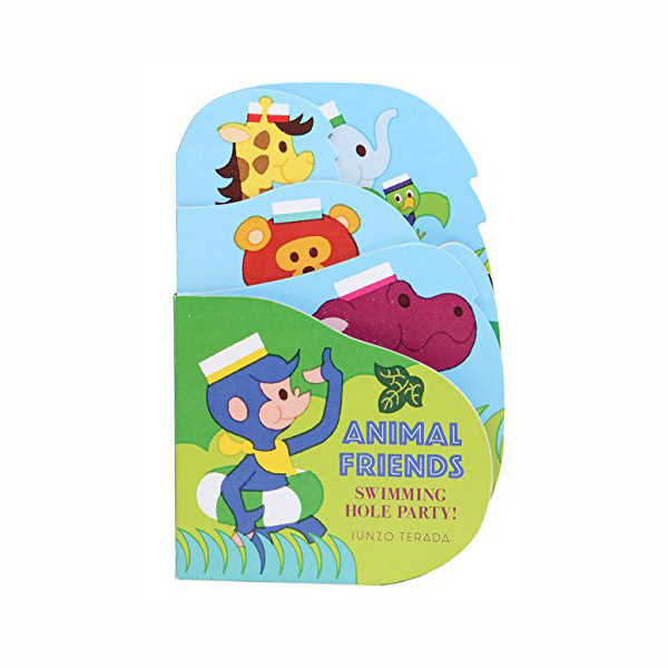 Animal Friends: Swimming Hole Party! (Board book)