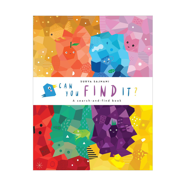 Animosaics : Can You Find It? (Board book, 영국판)