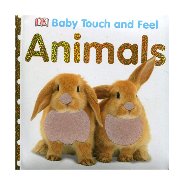 Baby Touch and Feel : Animals (Board book, 영국판)