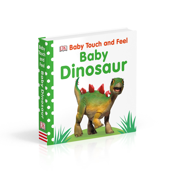 Baby Touch and Feel : Baby Dinosaur (Board book, 영국판)