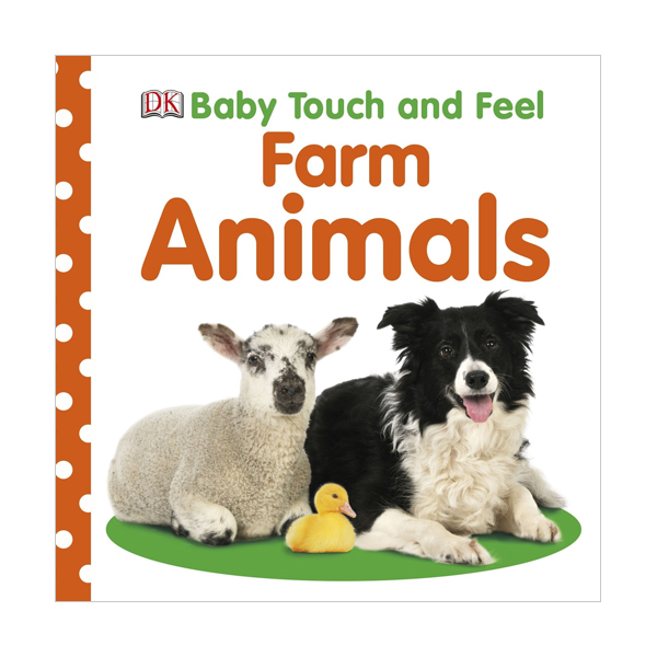 Baby Touch and Feel : Farm Animals (Board book, 영국판)