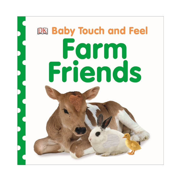 Baby Touch and Feel : Farm Friends (Board book, 영국판)