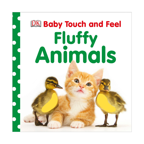 Baby Touch and Feel : Fluffy Animals (Board book, 영국판)