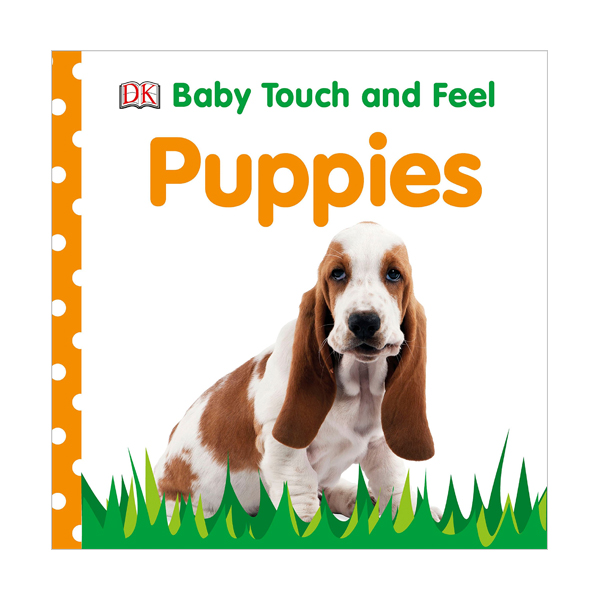 Baby Touch and Feel : Puppies (Board book, 영국판)