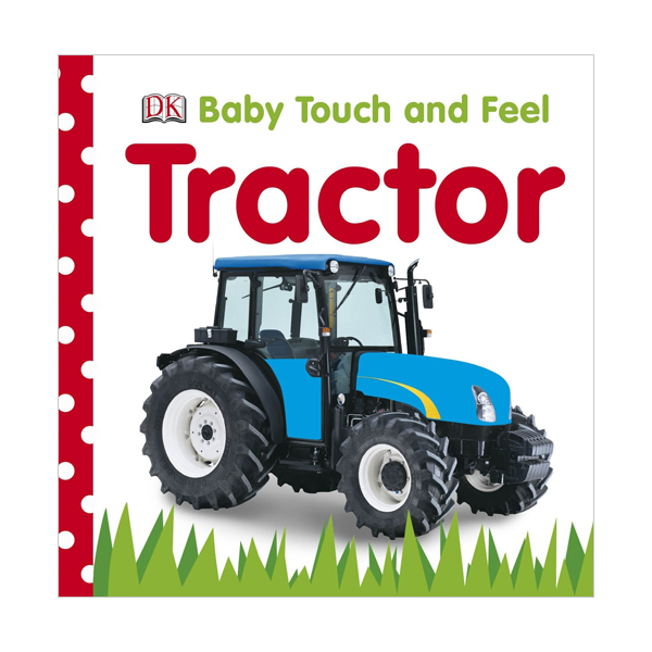 Baby Touch and Feel : Tractor (Board book, 영국판)