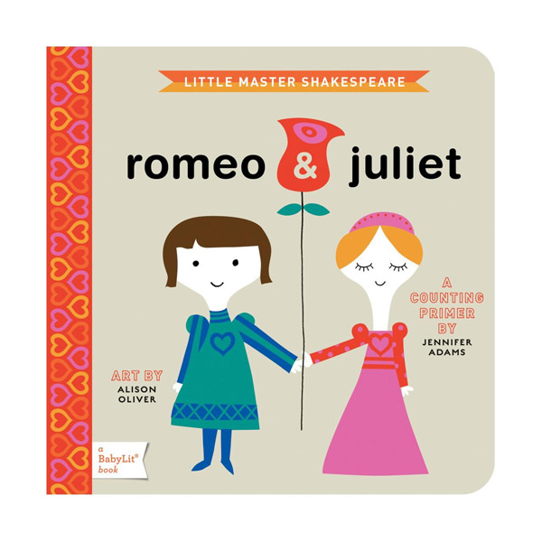 BabyLit Books : Counting Primer : Romeo & Juliet (Board Book)