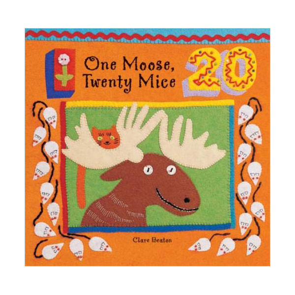 Barefoot Beginner : One Moose, Twenty Mice (Board Book)