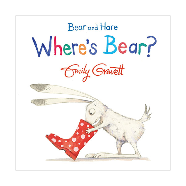 Bear and Hare: Where's Bear? (Board book, 영국판)