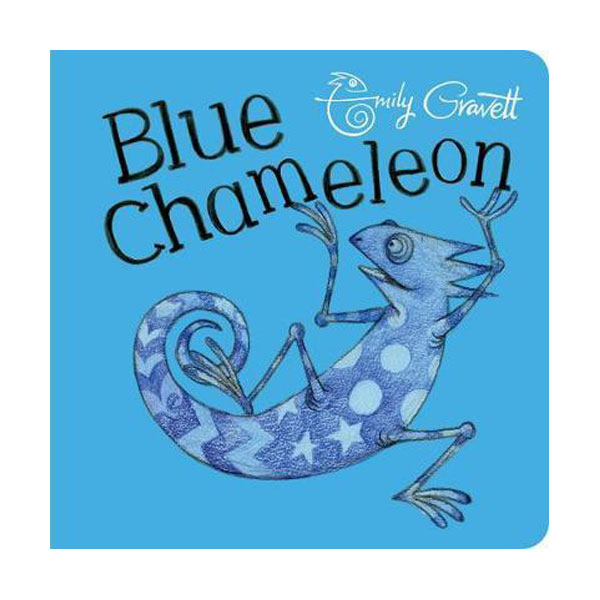 Blue Chameleon (Board book, 영국판)