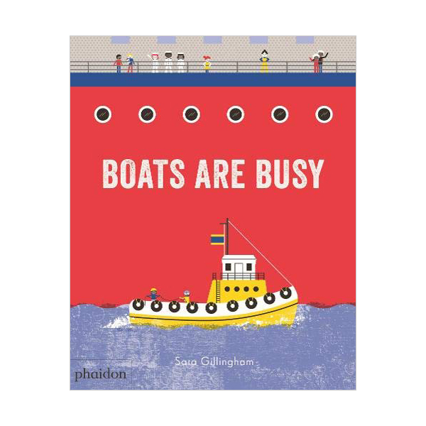 Boats Are Busy (Board book, 영국판)