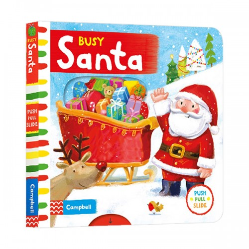 Busy Books Series : Busy Santa (Board book, 영국판)