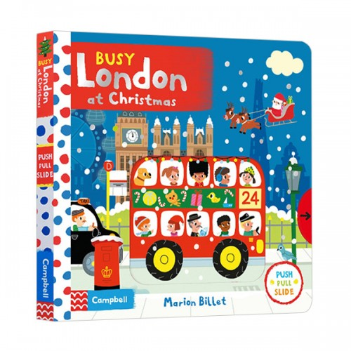Busy Books Series : London at Christmas (Board book)