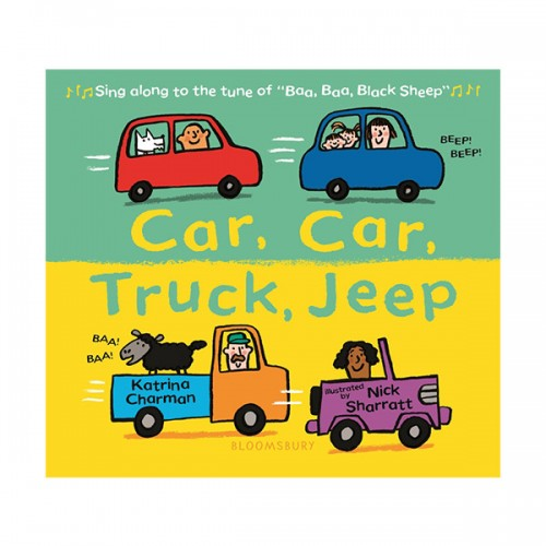 Car, Car, Truck, Jeep (Board book)