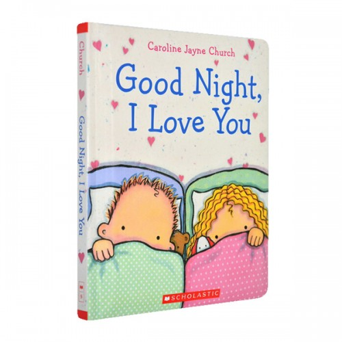 Goodnight, I Love You (Padded Board Book)
