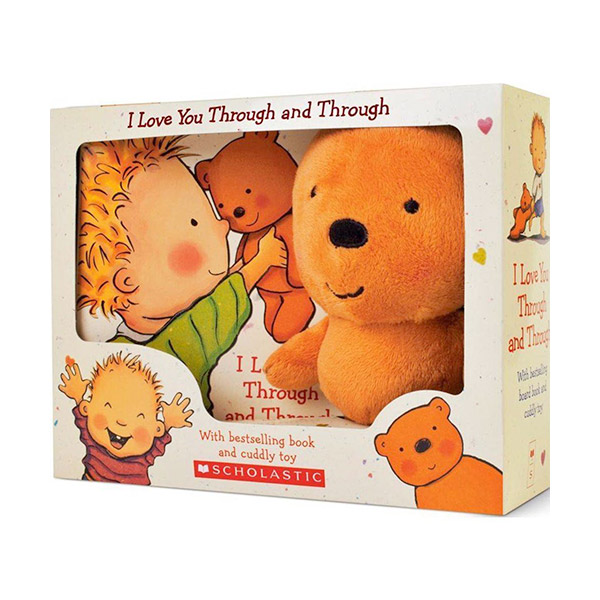 [★LOVE★] I Love You Through and Through (Padded Board Book & Plush)