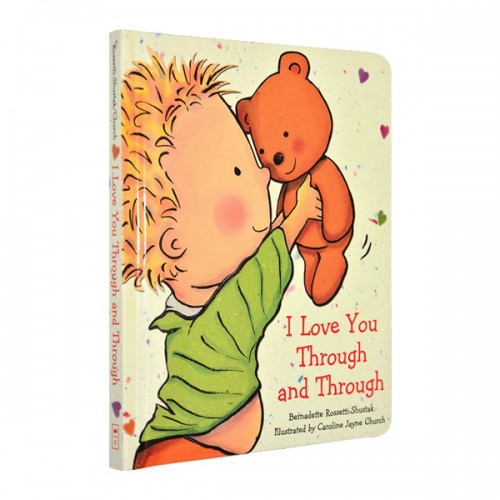 [스콜라스틱] I Love You Through and Through (Padded Board Book)