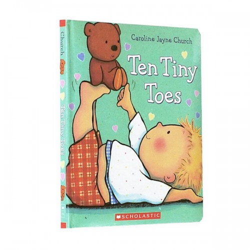 Ten Tiny Toes (Padded Board Book)