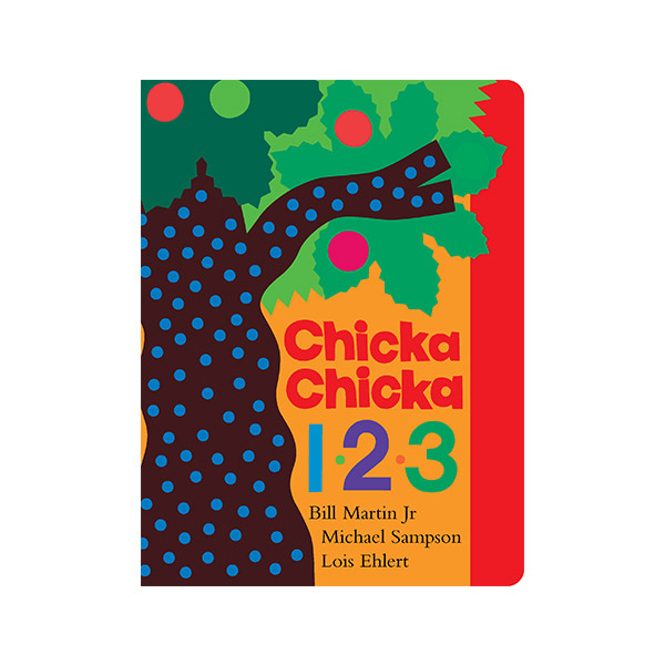 Chicka Chicka 1, 2, 3 (Board Book)