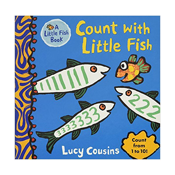 Count with Little Fish (Little Fish Book) (Board book)