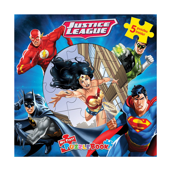 DC Justice League : My First Puzzle Book (Board Book)