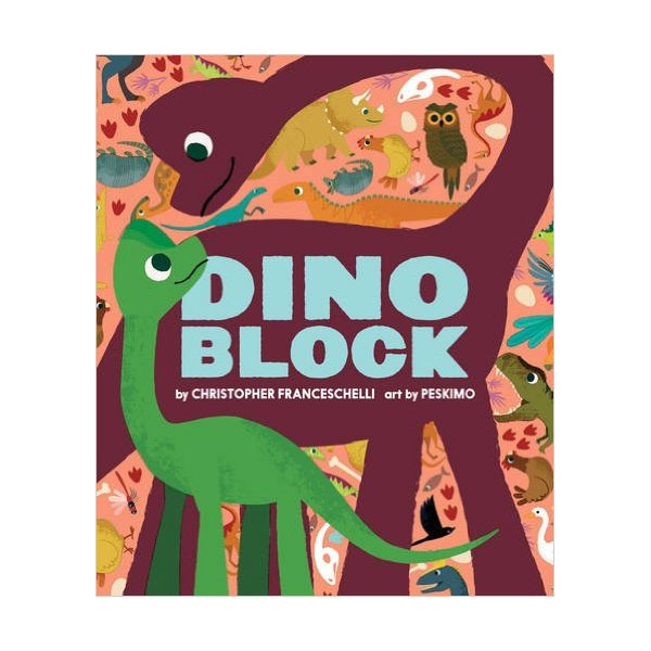 Dinoblock : Block Book (Board book)