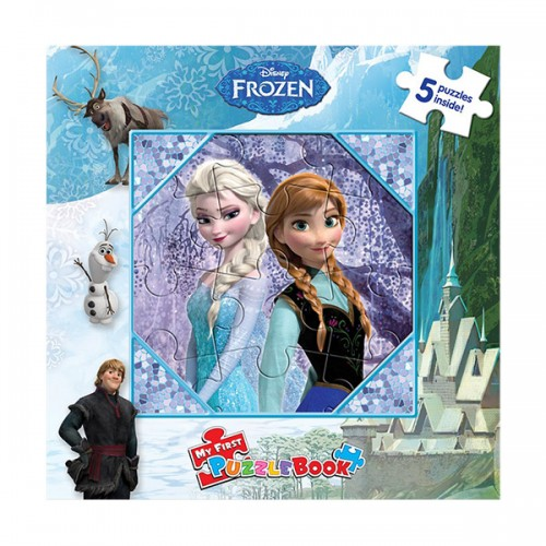 Disney Frozen : My First Puzzle Book (Board Book)