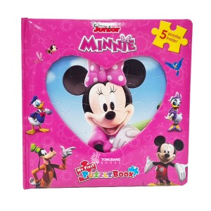 Disney Minnie My First Puzzle Book (Board Book)