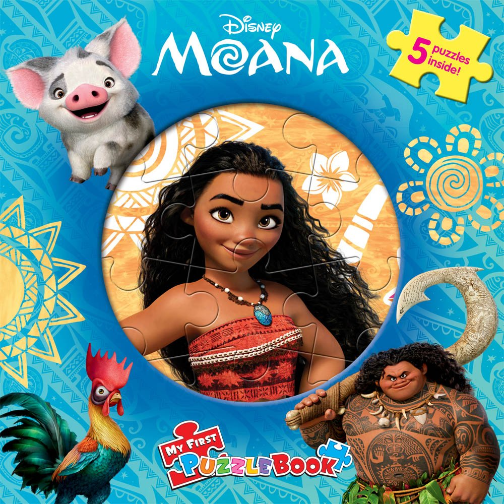 Disney Moana : My First Puzzle Book (Board Book)