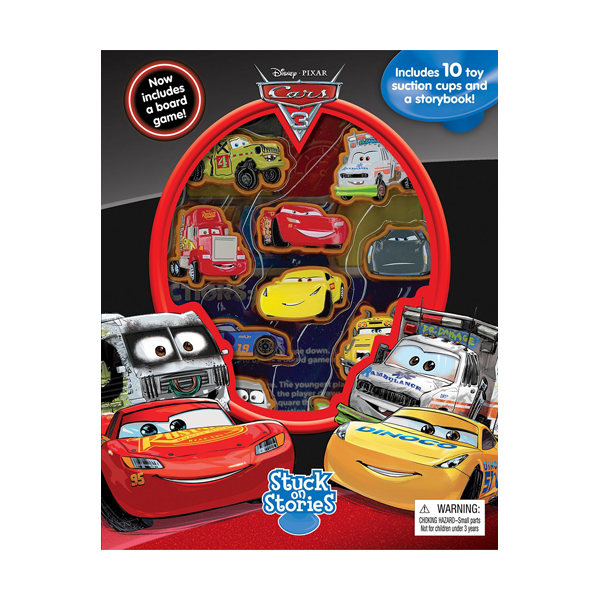 Disney Pixar Cars 3 : Stuck on Stories (Board Book)