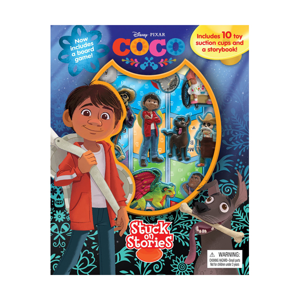 Disney Pixar Coco : Stuck on Stories (Board Book)