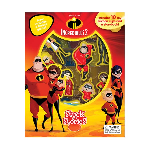 Disney The Incredibles 2 : Stuck on Stories (Board Book)