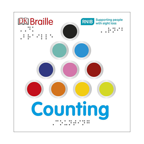 DK Braille Counting (Board book, 영국판)