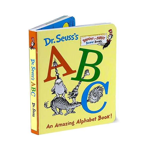닥터수스 Dr. Seuss's ABC : An Amazing Alphabet Book! (Board Book)