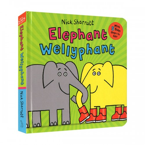Elephant Wellyphant (Board book, 영국판)