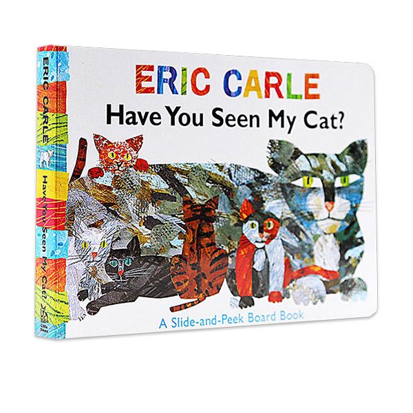 Eric Carle : Have You Seen My Cat? (Board Book)