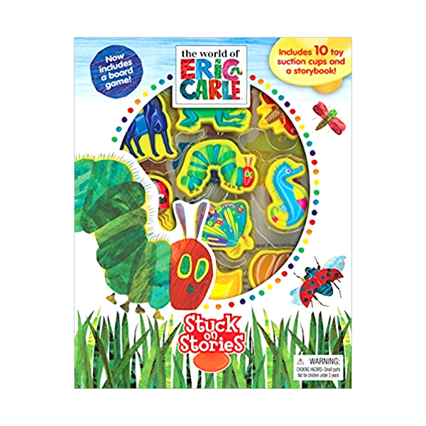 Eric carle : Stuck on Stories (Board Book)