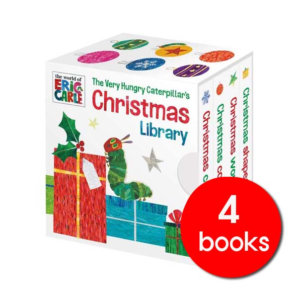 Eric Carle : The Very Hungry Caterpillar's Christmas Library (Board book, 영국판)