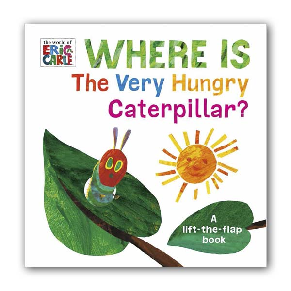 Eric Carle : Where is the Very Hungry Caterpillar? (Board book, 영국판)