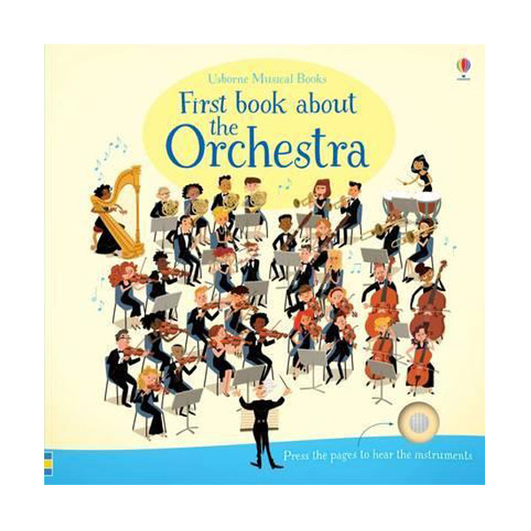 First Book About The Orchestra (Board Book, Sound Book, 영국판)