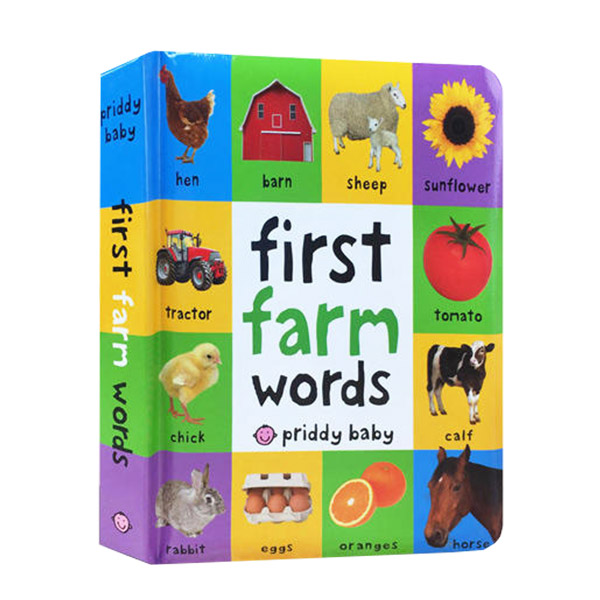 First Farm Words (Board book)
