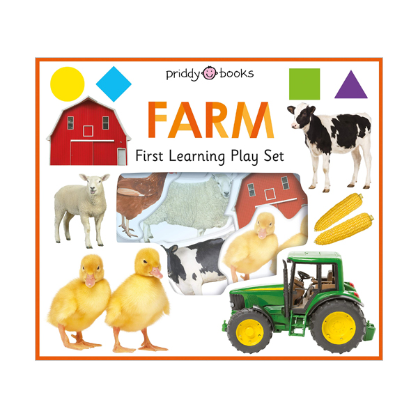 First Learning FARM Play Set (Board Books)