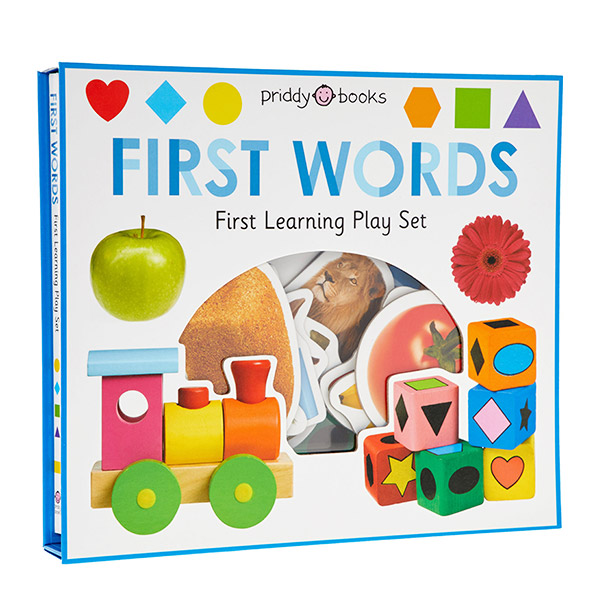 First Learning FIRST WORDS play set (Board book)