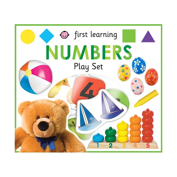 First Learning Numbers Play Set  (Board Books)
