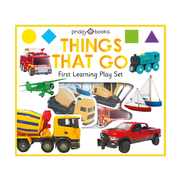 First Learning Play Set : Things That Go (Board Books)