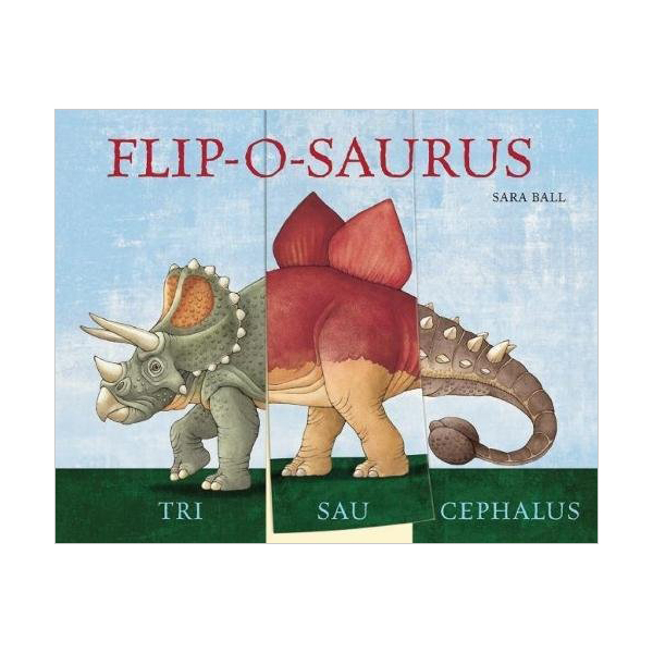 Flip-o-saurus (Board book)