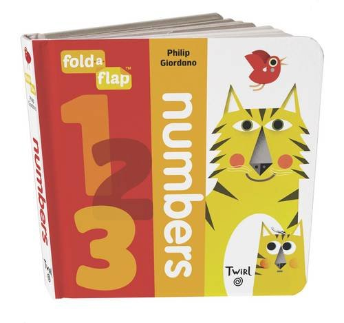 Fold a Flap : Numbers (Board book)