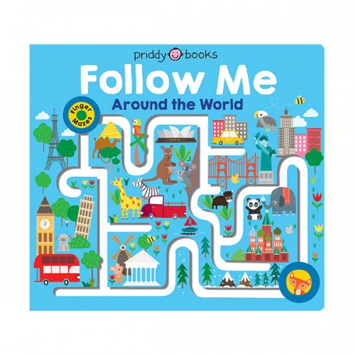 Follow Me Around the World : Maze Book (Board Books)