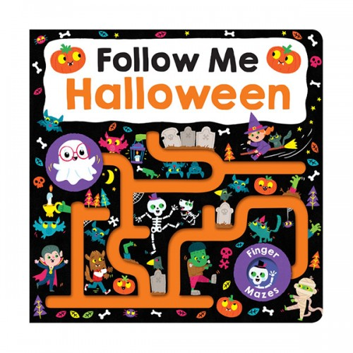 Follow Me Halloween : Maze Book (Board Books)